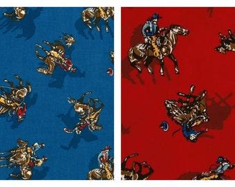 Robert Kaufman - Ride'em Cowboy 2 - Rodeo Cotton Fabric