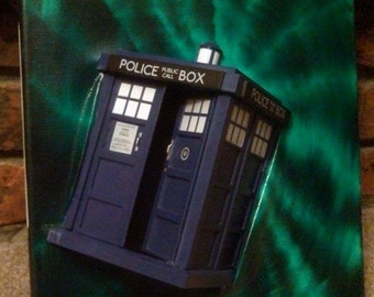 Police Box coming out of Vortex