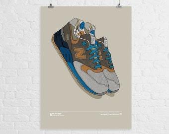 Concepts x New Balance 999 A3 Print