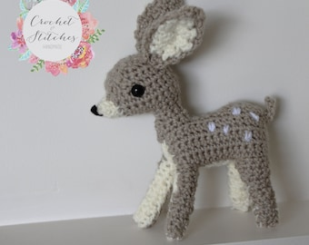 Crochet fawn ~ amigurumi ~ doe