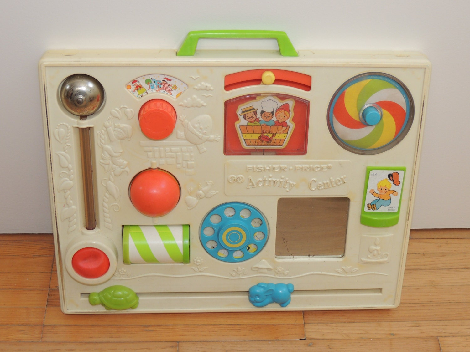 Activity center table 1973 fisher price toys child seventies - Table activite fisher price ...