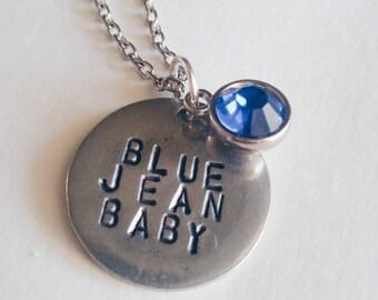 Blue Jean Baby Elton John Tiny Dance Lyrics Necklace
