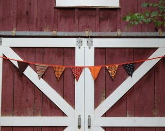 Halloween bunting banner garland