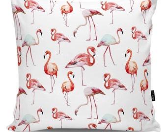 Decorative pillows Flamingos