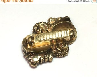 SummerSALE 1900s Gold Filled  Brooch Pin