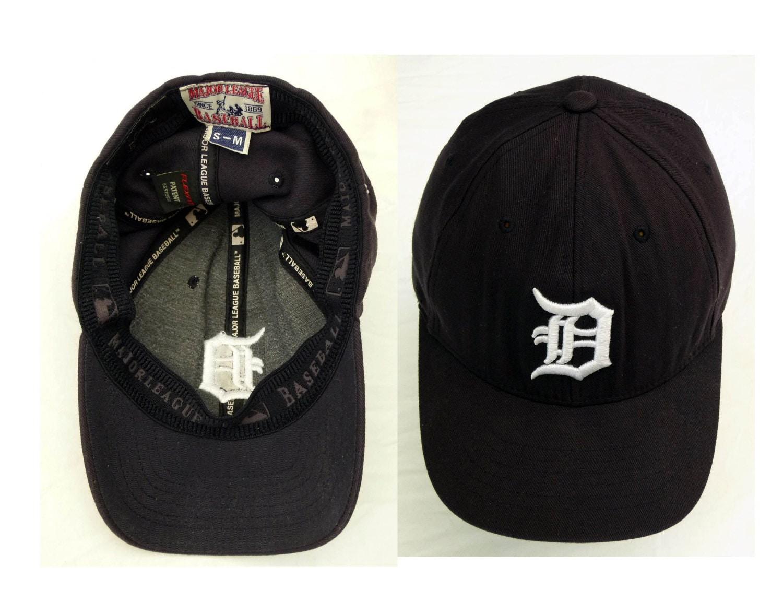 Detroit Tigers Baseball Hat Black Red