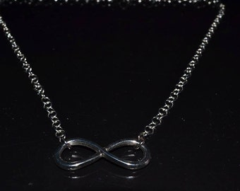 Infinity Silver Necklace For Her Women Jewellery
