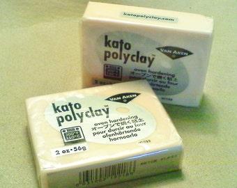 Kato polymer clay; 2oz. bar of flesh/beige Kato polymer clay, 1/2.40.