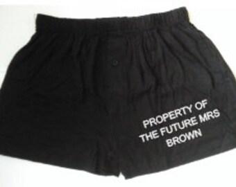 Personalised Boxer Shorts, Novelty Boxer shorts, Personalised Mens underwear, Funny Boxer shorts, boyfriend gift, valentines gift, boxers