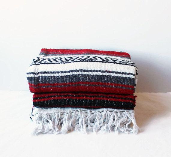 Mexican Beach Blanket: MEXICAN BLANKET // Beach Yoga Adventure Blanket Blanket