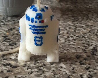 R2D2 birthday candle