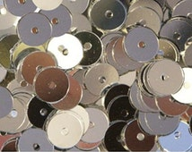 50gram/Pack 8mm Flat Round SEQUIN ~ Loose sequins for embroidery, bridal, applique, arts, crafts, and embellishment.