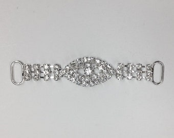 2 pcs Crystal Closures For Invitations and Wedding Projects