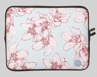 CHERRY BLOSSOM laptop case by Designvonal