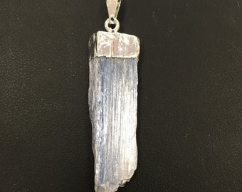 "Kyanite Blade Pendant with 18"" Chain"