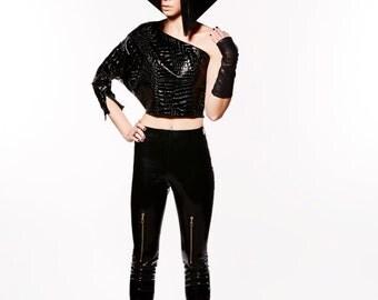 Designer Couture Croc Top
