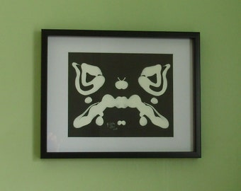 Rorschach Original Framed Art - Series II