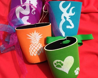 Neon Brights Custom Can Holders