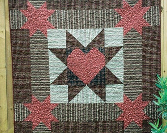 "Another NEW Primitive Quilt PATTERN ""My Prim Star"""