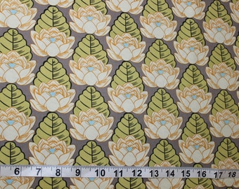 Amy Butler-Lotus Collection-Lotus Pond Ivory; AB21; 1/2 yd Cotton Woven Fabric