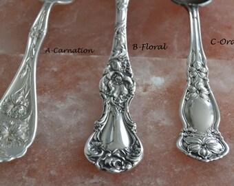 "Spoon Bracelet ""Design Your Bracelet"" Handmade Mother's Day Wedding Gift Vintage Silverware Bracelet Fork Jewelry Spoon Jewelry Flowers - 2"
