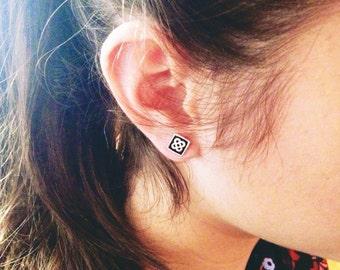 Panot Earrings, Sterling Silver Earrings