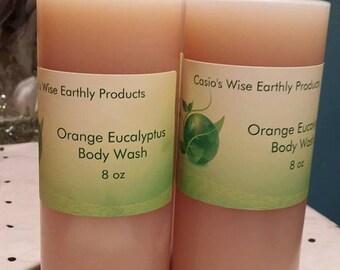 Orange Eucalyptus Bodywash