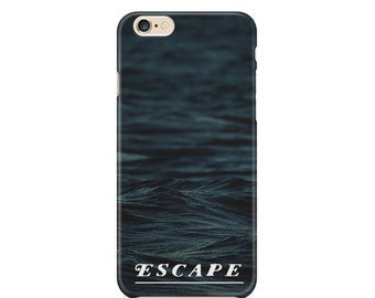Escape Waves Cell Phone Case, Ocean, Sea life, Travel, Apple iphone, Samsung Galaxy, Note, Edge, Plus