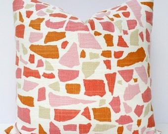 Abstractions in Blossom Pillow Cover