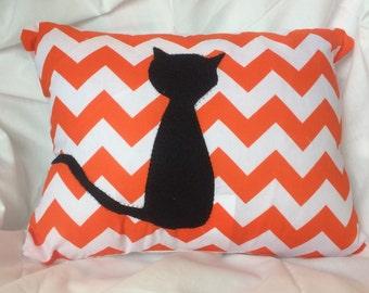 Halloween Cat Pillow