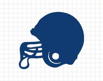 Football Helmet Embroidery Design 4x4,5x7 inches-Instant Download