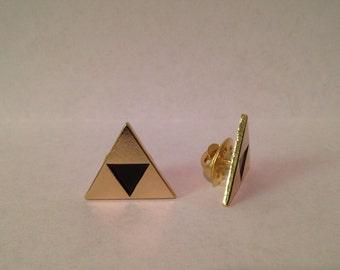 Set of 2 The Legend of Zelda Triforce Metal Pins