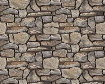 5 feuilles gaufrées papier mur de pierre 20cm x 28 cm chaque  de feuille échelle 1/12