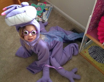 Purple Monster Randall Alien Halloween Costume Custom Made