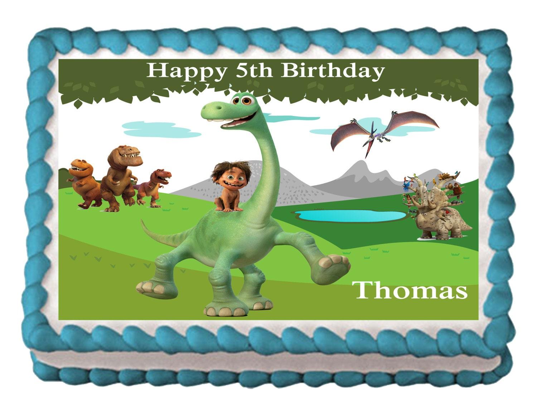 The Good Dinosaur Cake Topper Australia
