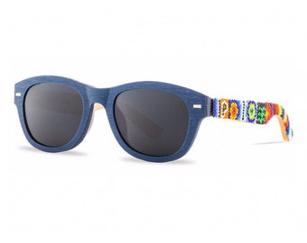 HUICHOL COLORS Handcrafted Sunglasses