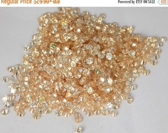Special 50% Off AAA Champagne Cubic Zirconia Round Normal Cut Gemstone,Loose Gemstone,Good Quality Gemstone.