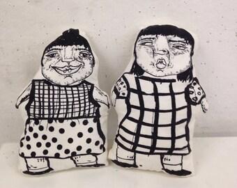 Twin Sister Dolls