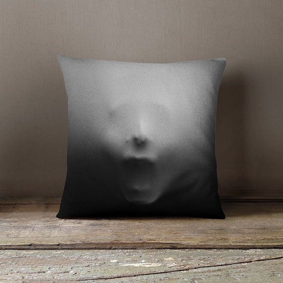 Freaky Person Trapped Pillow