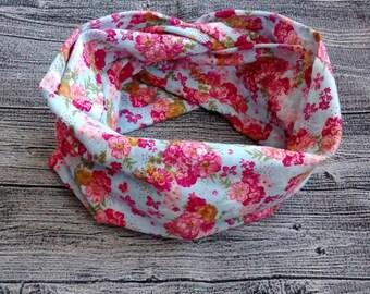 Infinity scarf - flower