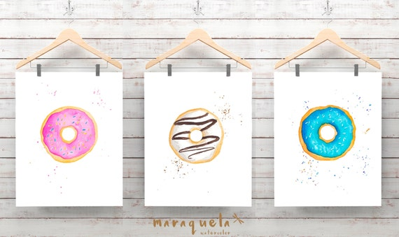 DISCOUNT SET DOUGHNUTS Ilustrations