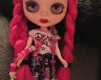 "OOAK Custom Blythe Doll ""Stella"""