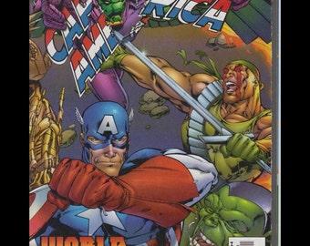 Marvel Comics Captain America World War 3 Part 4 of 4 1997 Mint in Plastic