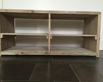 Reclaimed Wood TV Stand / Media Unit