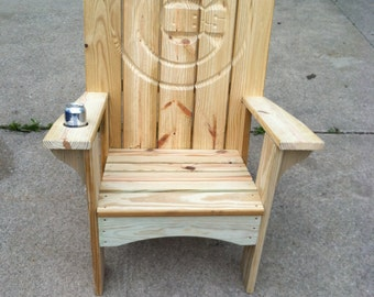 Ultimate Cubs Fan Adirondack Chair