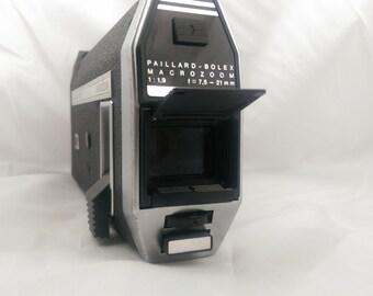 Vintage Super 8mm Camera - Bolex 7.5 MACROZOOM  - 1969