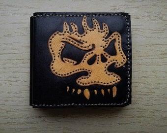 Wallet mens Skull
