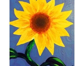Sunflower Canvas