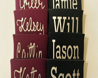 Name Can Cooler - Can Cooler - Can Insulator - Custom Can Cooler - Beverage Cooler - Personalized Can Cooler