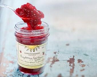 Raspberry Cointreau Jam